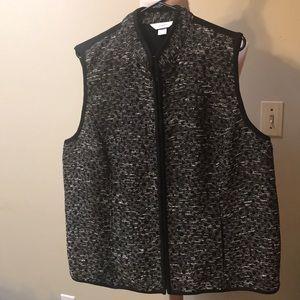 CJ Banks Zip up vest
